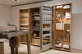 キッチン,システム収納,効率
